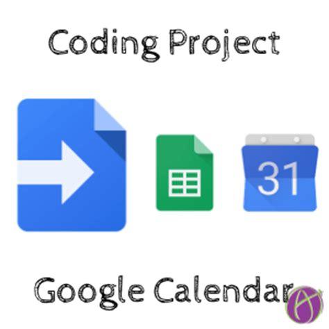 Calendar App Script Code A List Of Your Calendar Events Tech