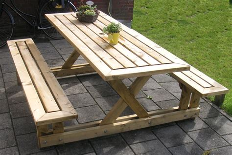 4 picnic table the most attractive 2 x 4 picnic table you could
