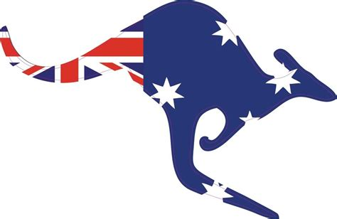 Farm Animal Wall Stickers australia flag aussie oz kangaroo wall car truck vinyl