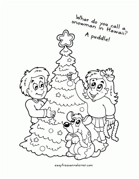printable sheet of jokes printable christmas coloring pages with jokes free