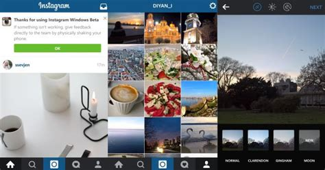 full version of instagram for windows phone facebook releases a beta version of instagram for windows