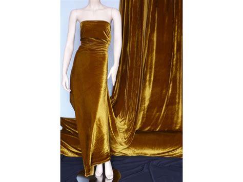 mustard yellow velvet curtains mustard velvet velour stretch spandex lycra fabric q1174 mst