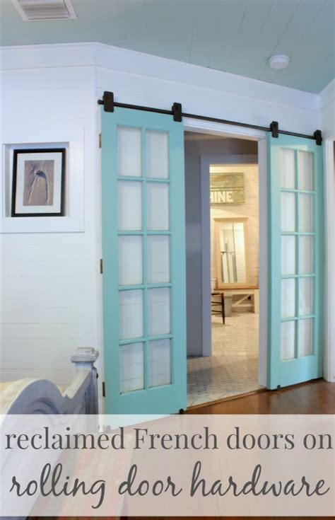 i need to use the bathroom in french 21 diy barn door projects for an easy home transformation