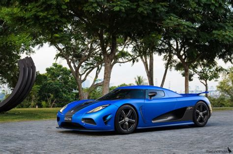 Matte Blue Koenigsegg Agera S Madwhips