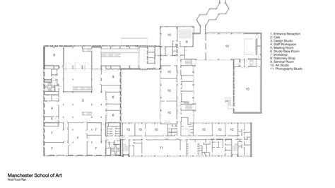 How To Draw A Room Layout manchester school of art work fcbstudios