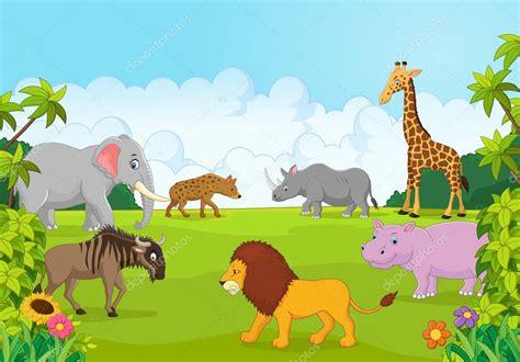 imagenes animales de la selva animados dibujos animados de animales colecci 243 n 193 frica en la selva