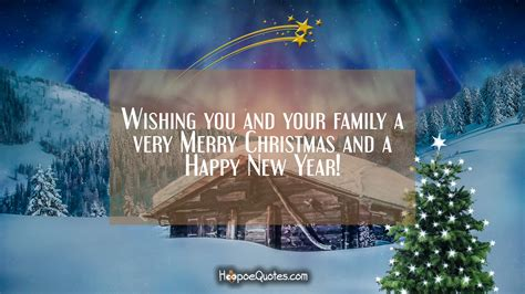 wishing    family   merry christmas   happy  year hoopoequotes