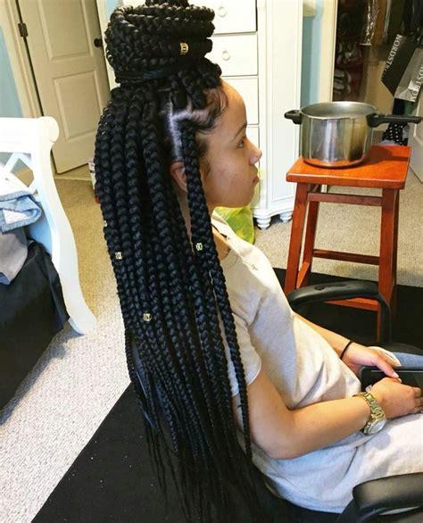 box braids for little girls 25 best ideas about jumbo box braids on pinterest bo 238 te