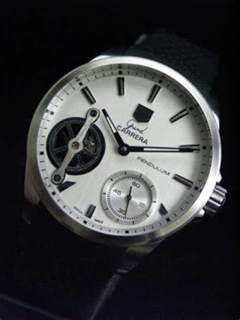 tag heuer pendulum silver white zone tag heuer grand pendulum