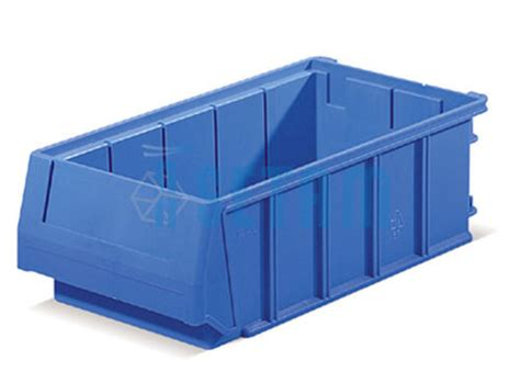 bac tiroir plastique multibox bleu bac rangement p 300 mm