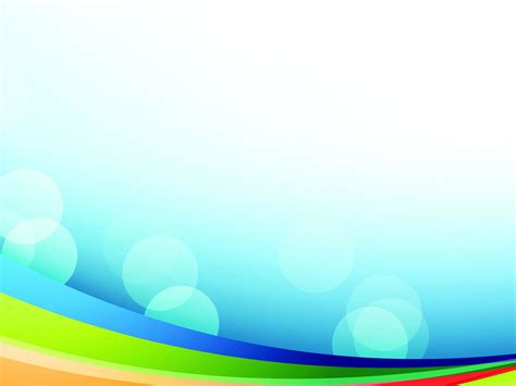 colorful rainbow backgrounds presnetation ppt