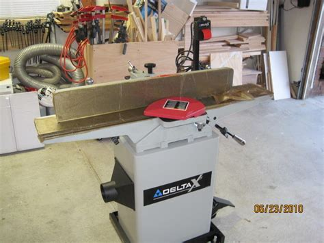 delta 6 bench jointer review my new delta 6 quot jointer by lanwater