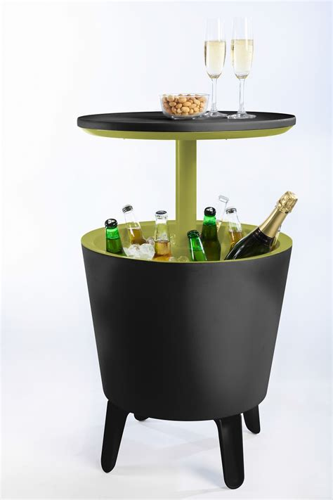 drink table bar keter cool bar drink storage and table gallery bar