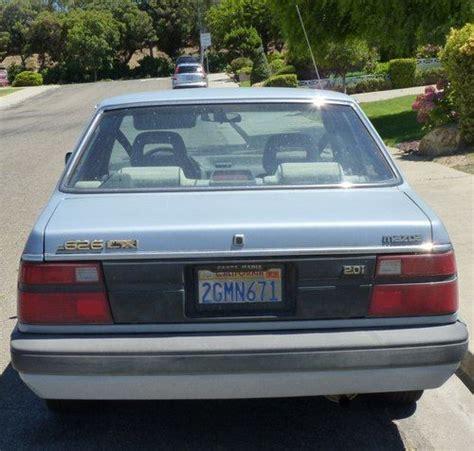 how make cars 1987 mazda familia transmission control purchase used 1987 mazda 626 dx sedan 4 door 2 0l in santa maria california united states for