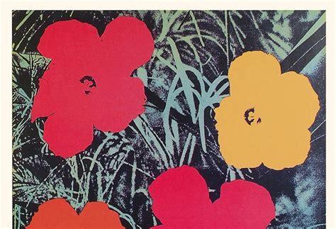 fiori warhol in mostra fiori e zuppe di andy warhol