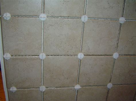Tile Spacer using tile spacers
