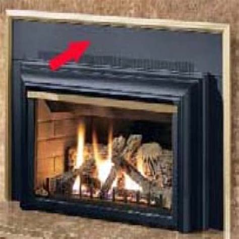 Sided Gas Fireplace Inserts by Napoleon Deluxe 3 Sided Backing Plate Kit For The