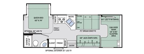 chateau rv floor plans 2017 class c motorhome floor plans gurus floor