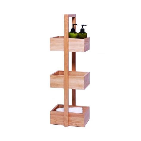 bathroom floor caddy 3 tier wooden bathroom caddy 28 images 1000 ideas