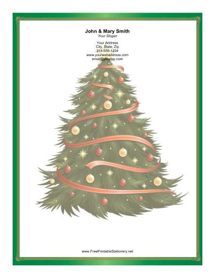 printable christmas tree garland large christmas tree garlands stationery