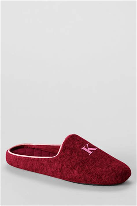 lands end womens slippers lands end s boiled wool mule slippers