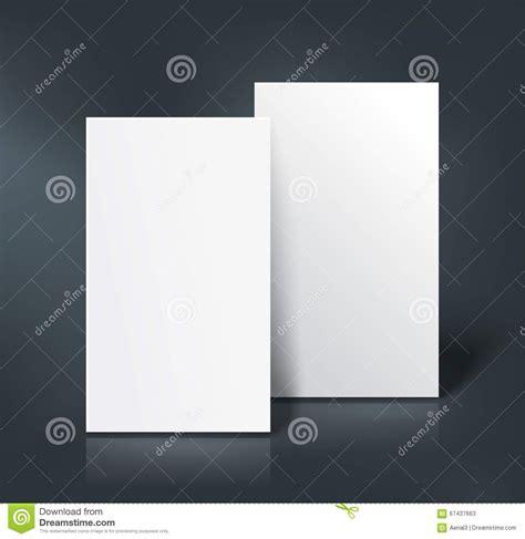 z card mockup template business cards mockup vector illustration stock vector