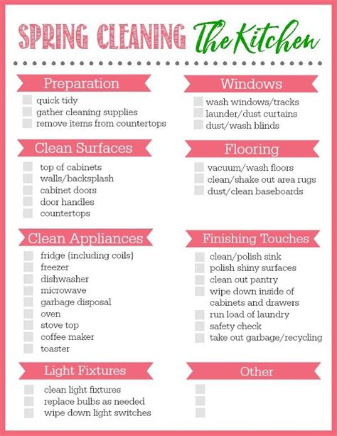 kitchen cleaning tips 154 best cleaning printables images on pinterest