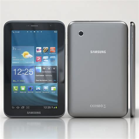 Batre Samsung Tab 2 Original Samsung Galaxy Tab 2 3d Model