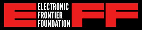 eff logos  graphics electronic frontier foundation