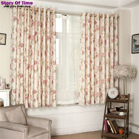 curtains floral print new arrive dot design floral print curtains interior