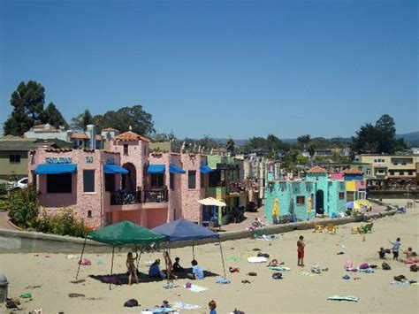 colorful houses in capitola picture of capitola