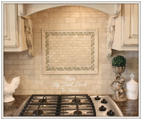 french kitchen backsplash from my front porch to yours french farmhouse diy kitchen