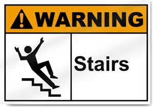 Stairs Sign by Pics Photos Caution Stairs Sign