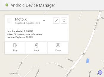 reset android device password android device manager updated allows device lockdown