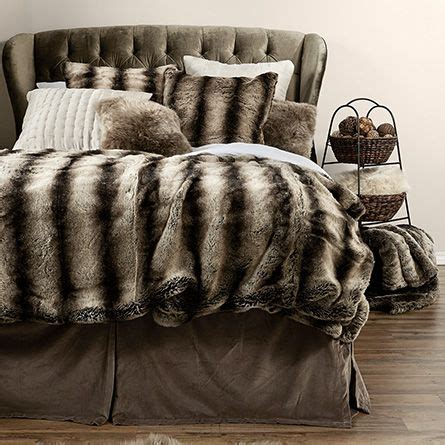 1000 ideas about fur bedding on fur throw