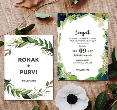 Unique Wedding Invitation Cards Wordings