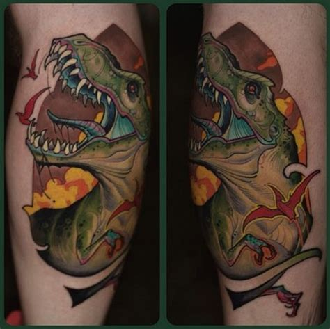 57 best images about t rex tattoos on great