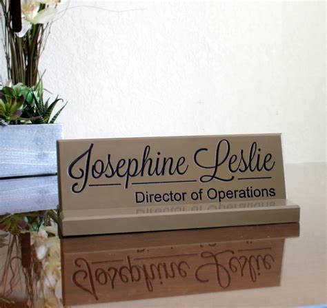 custom desk name plates desk name plate office sign door name plate engraved business