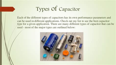 capacitor types images basic structure of capacitor