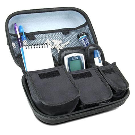 travel syringe kit diabetic supplies travel organizer for blood glucose