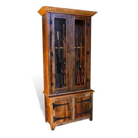 Barnwood Gun Cabinet by Barnwood Gun Cabinet
