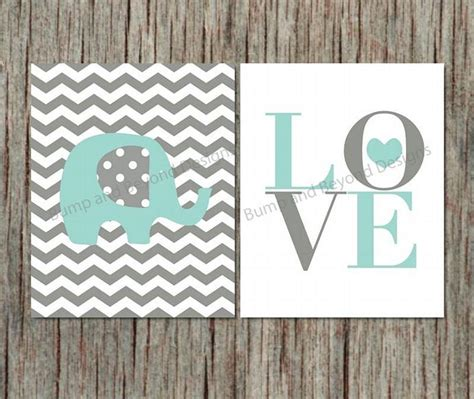 elephant nursery wall decor elephant wall nursery decor bumpandbeyonddesigns