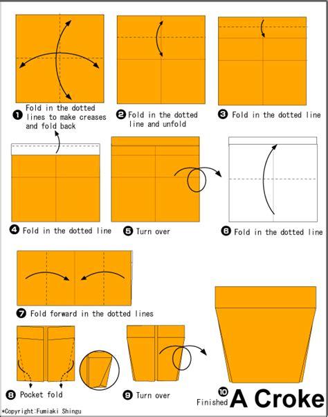 langkah membuat origami mudah langkah membuat origami kaktus beserta pot cara mudah
