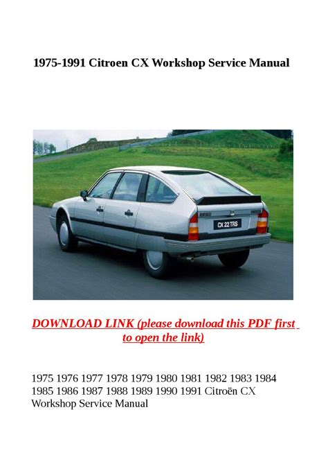 service repair manual free download 1989 citroen cx regenerative braking 1989 citroen cx service manual free service manual free repair manual 1989 citroen cx