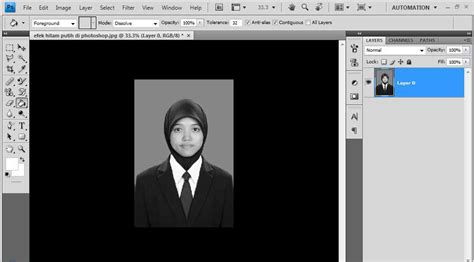 cara membuat gambar menjadi transparan di photoshop cara membuat foto hitam putih di photoshop