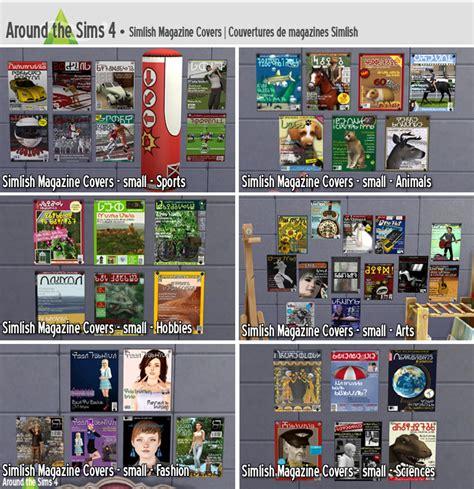 Las Vegas Home Decor Stores Around The Sims 4 Paintings Simlish Magazine Covers