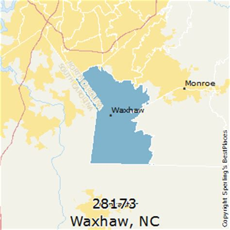 zip code map union county nc best places to live in waxhaw zip 28173 north carolina