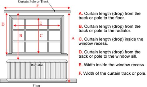 how to measure curtain rod width measurement form curtains