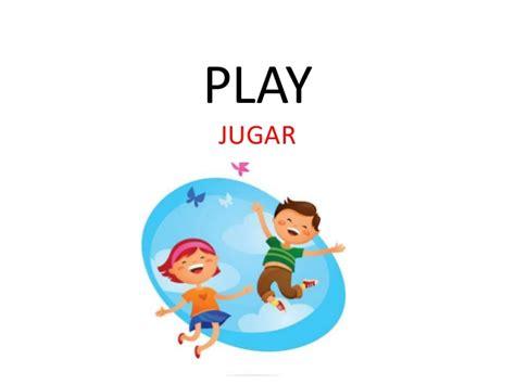 imagenes de jugar en ingles verbos com 250 nmente usados en ingl 233 s