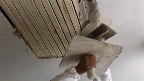 plastering walls tutorial how to do traditional plastering on wood lath see jane drill
